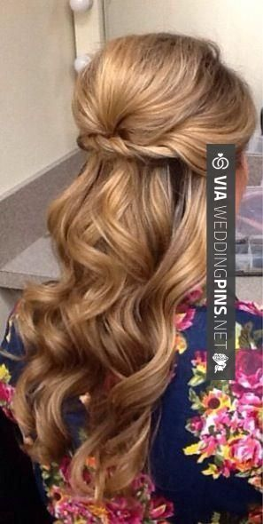 Wedding Guest Hair Half Up Do Hair Styles Long Hair Styles