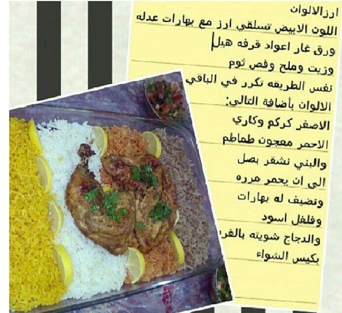 رز ملون Recipes Food Beef