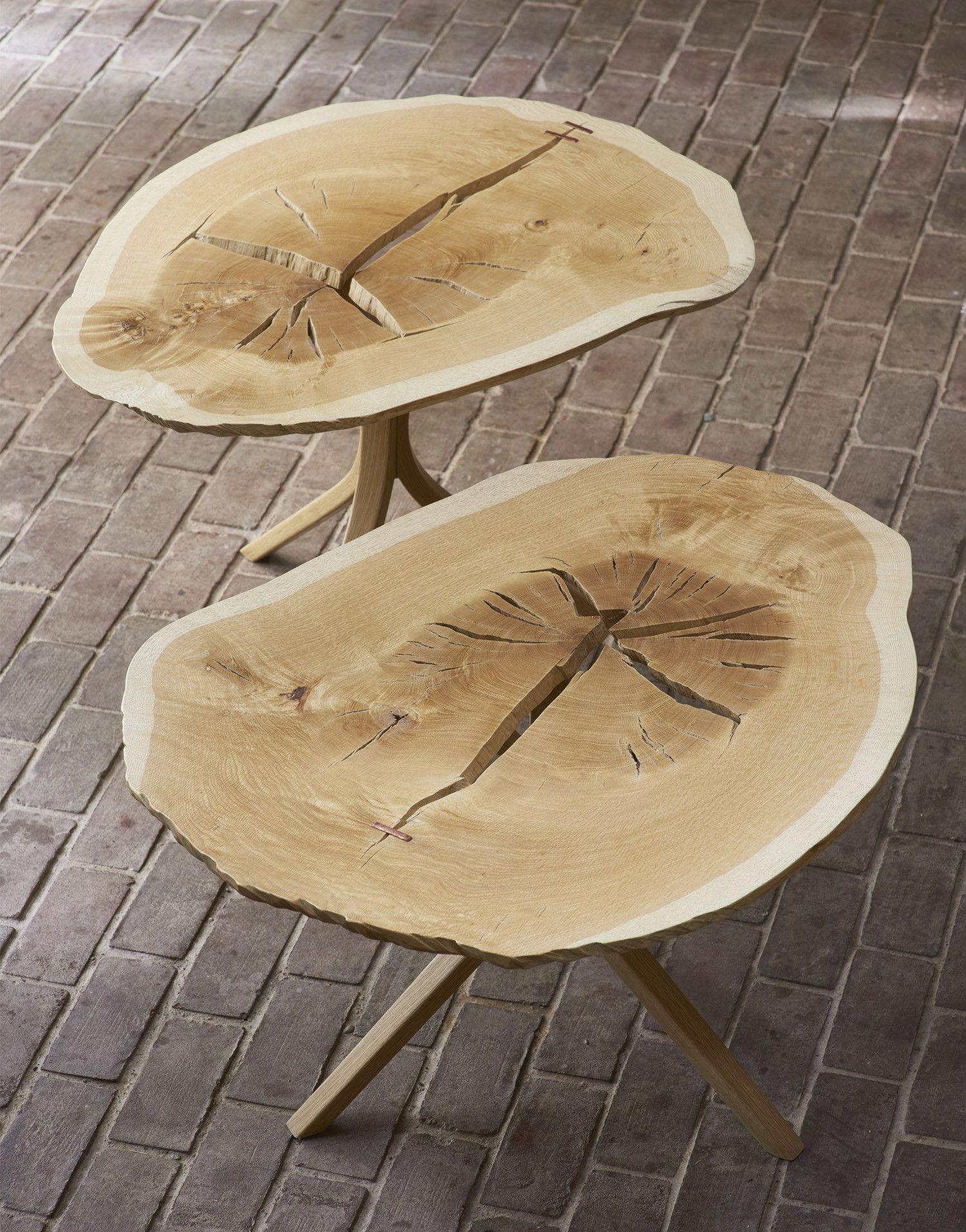 Twin Oaks Tables White Oak Tree Oak End Tables White Oak