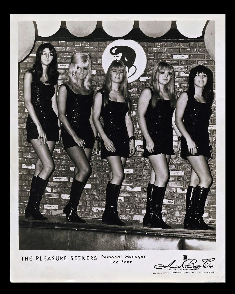 The Pleasure Seekers An Allgirl Group With Visual And Audio Appeal Picture Id502517721 1024 824 Pleasure Seeker Girl Group Rock And Roll