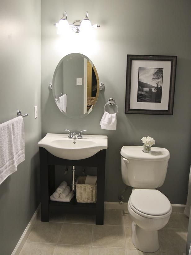 I Love This Color Palette: Budget Bathroom Remodels : Bathroom Remodeling : HGTV  Remodels