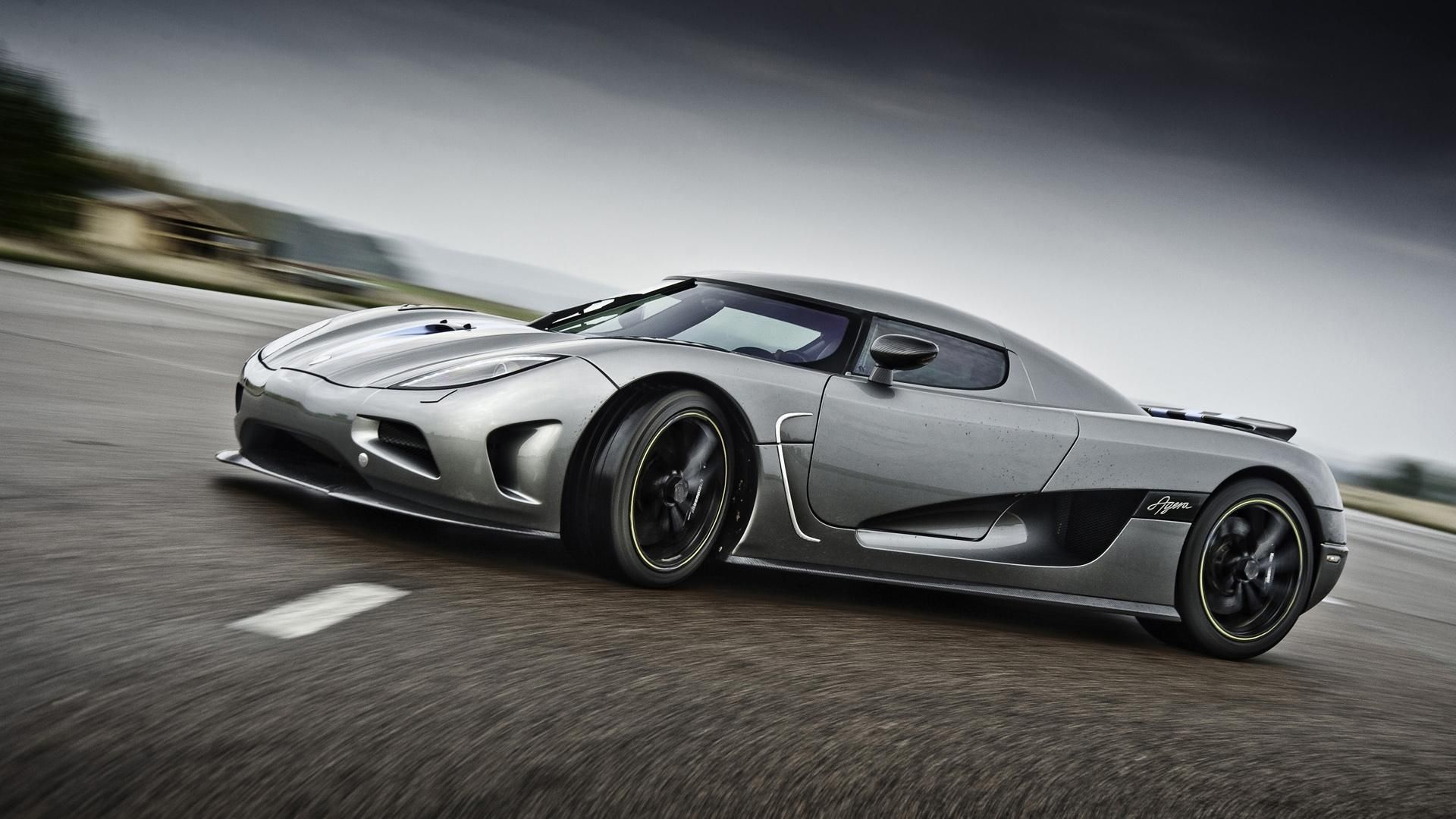 Amazing Koenigsegg Agera Side View | Cars Desktop HD Wallpaper