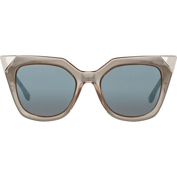 2099b1aa02e1 Fendi Women s Iridia Sunglasses (€410) ❤ liked on Polyvore featuring  accessories