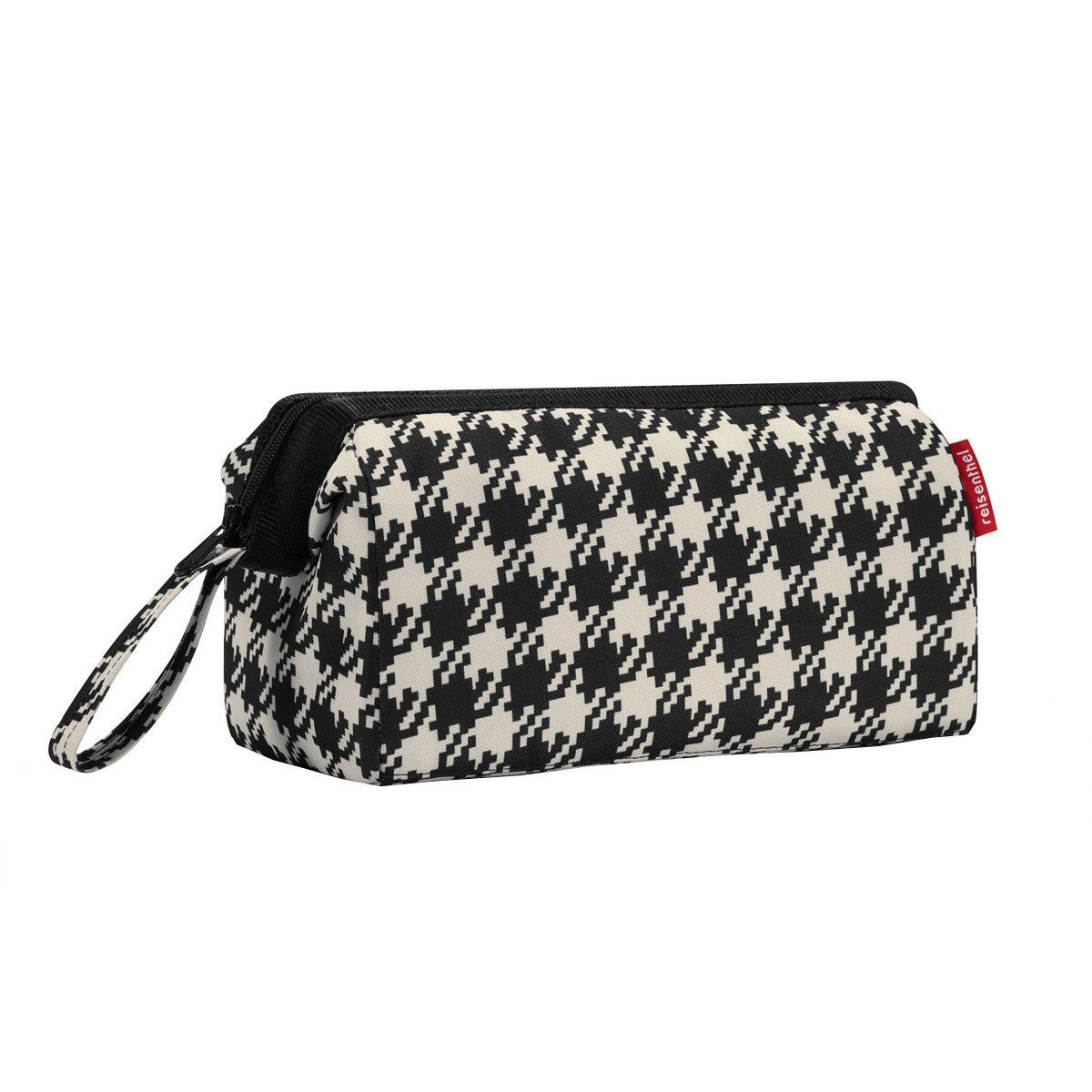 Houndstooth Fifties Black Reisenthel Travel Cosmetics Bag. >>> Check this awesome image  : Travel cosmetic bag