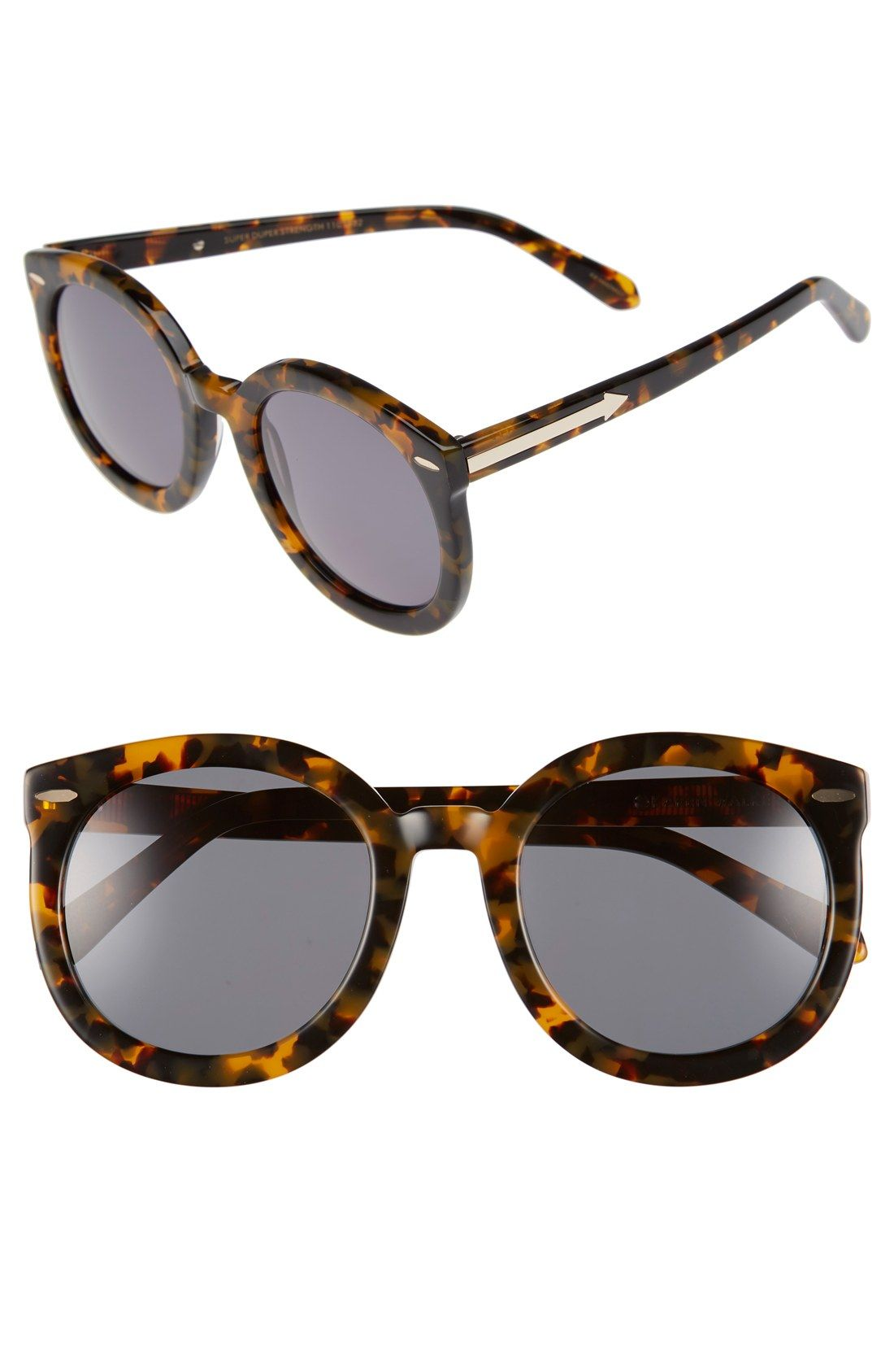 95d556362 Karen Walker 'Super Duper Strength' 55mm Retro Sunglasses | Teen ...