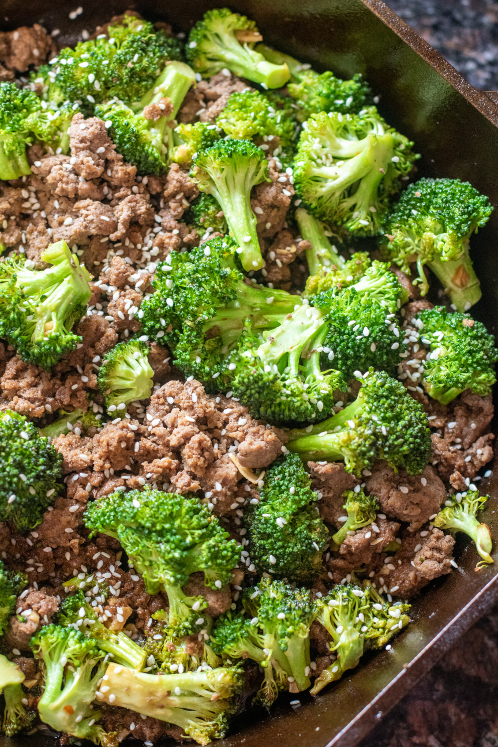 Easy Ground Beef And Broccoli Recipe In 2020 Ground Beef And Broccoli Broccoli Beef Ground Beef