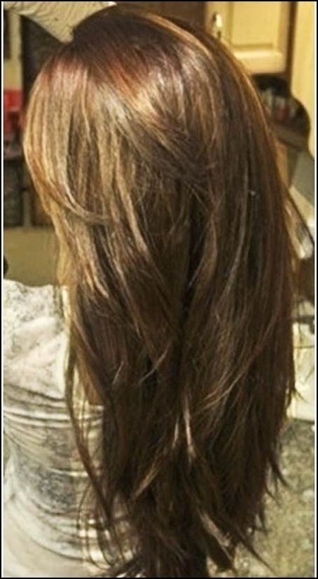 layered haircuts long thick