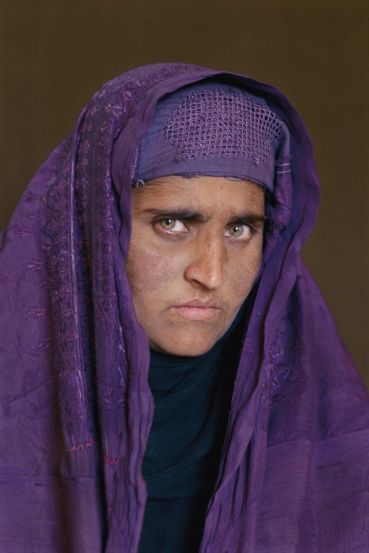 «La muchacha afgana», 17 años despúes
