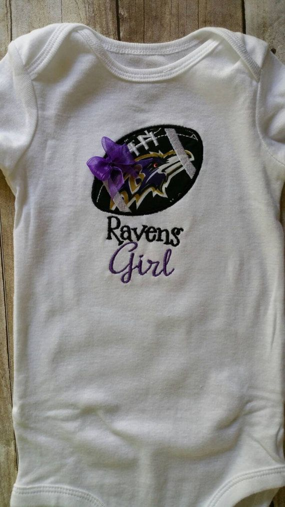 Baltimore Raven's Girl Shirt by saluna