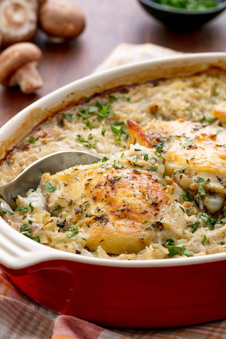 Campbells Chicken And Rice Casserole Recipes