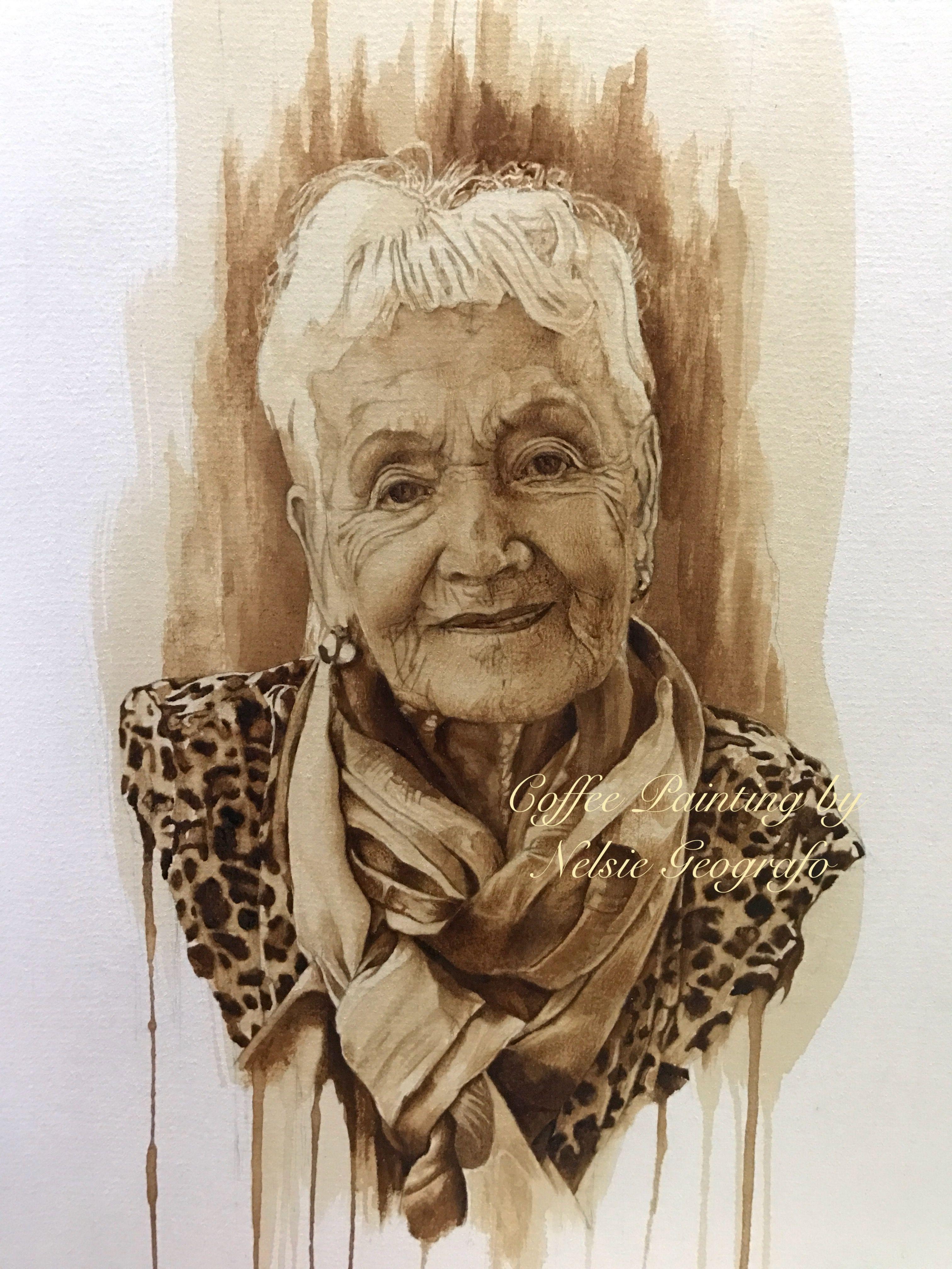 Mrs Svenson Coffee Art Coffee Painting Art