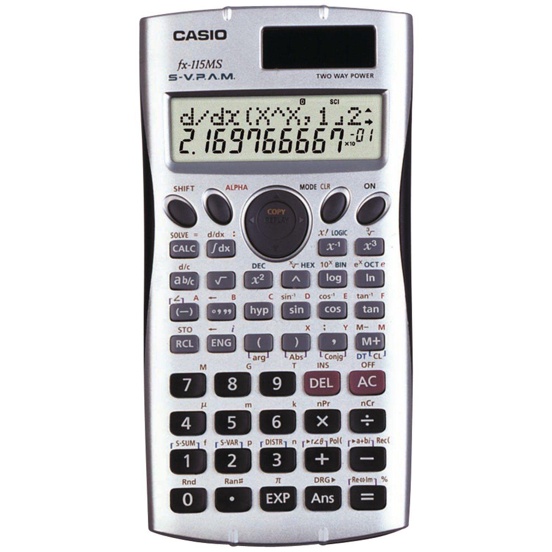 Casio Fx 115ms Plus Scientific Calculator Scientific Calculators