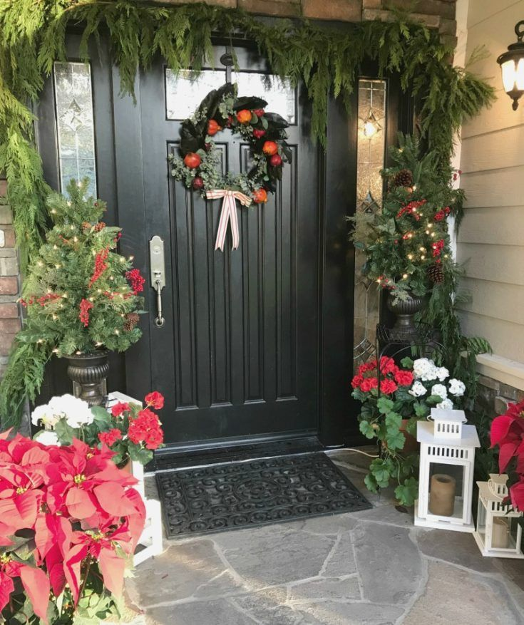 Front Entryway Decorating Ideas The Design Twins: How To Paint A Front Door: Tips & Steps