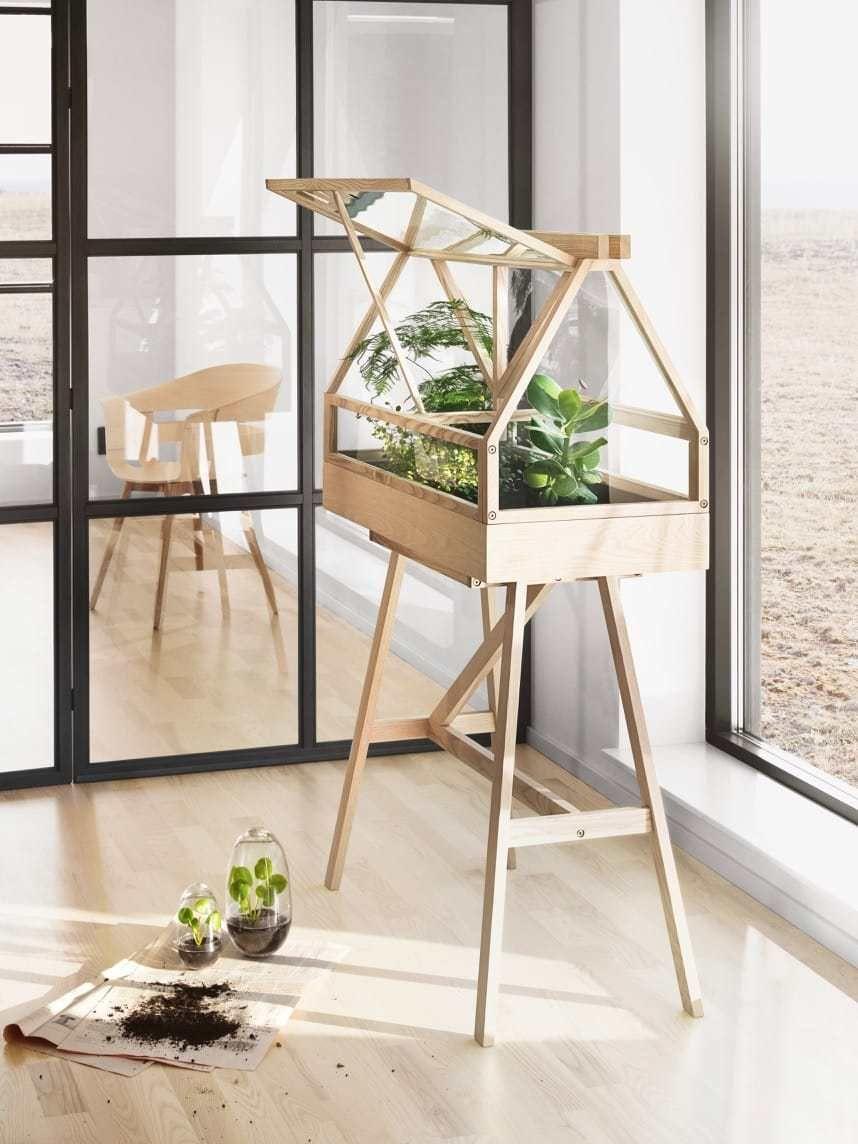 Scandinavian Indoor Greenhouse By Design Duo Atelier 2 Indoor
