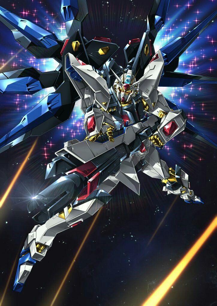Strike Freedom Gundam Arte De Anime Y Robot De Combate