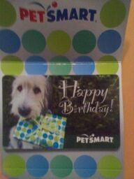 A Gift Card from Destiny Brooks!!    Thank you!!    We will update with a photo once we go shopping! Thanks!!