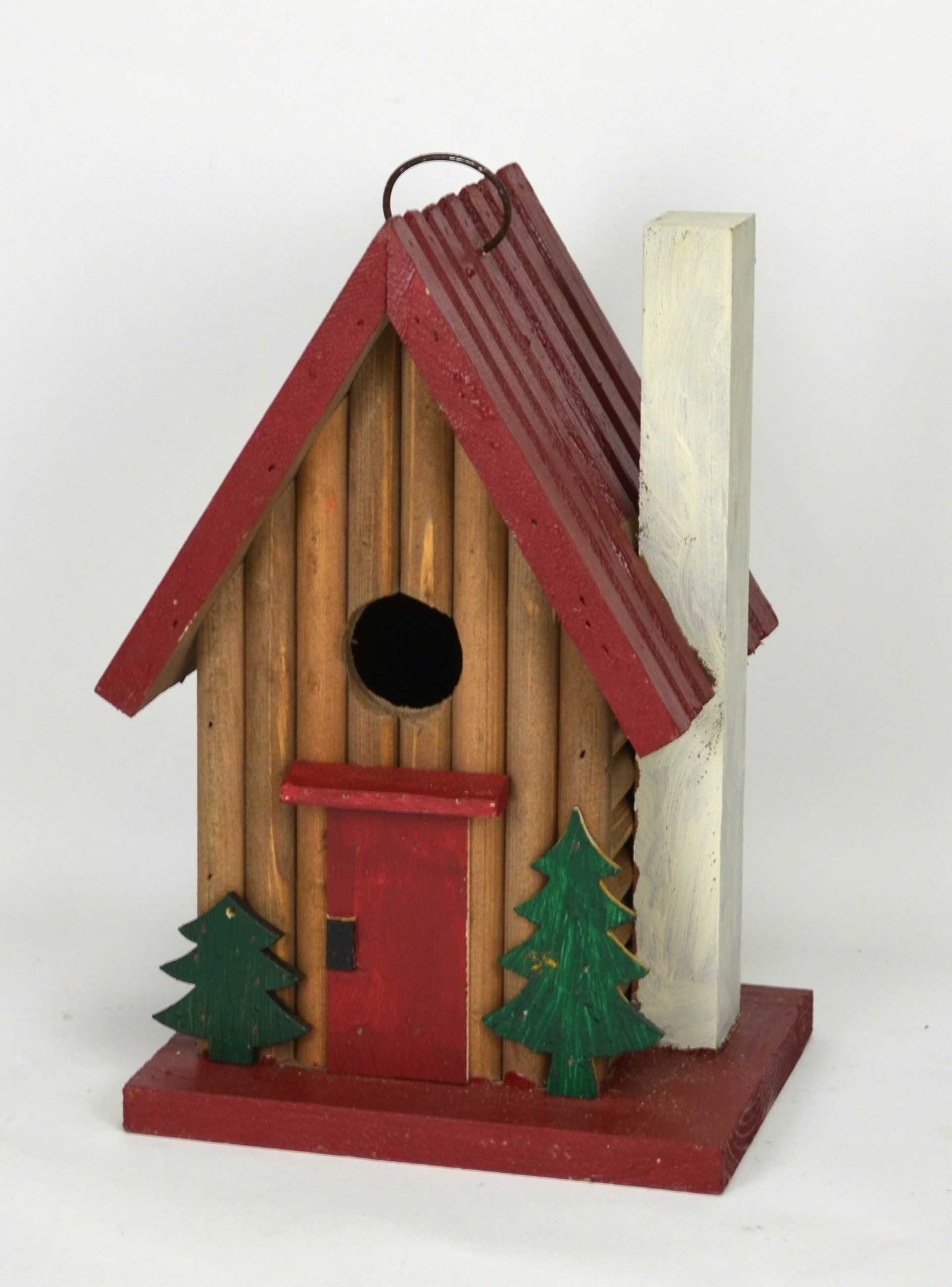 Stylish Yet Functional Birdhouses That Birds Love Adds Charm To Your Backyard Built In Hanging System Bird Safe Lead Free Paint And Easy Clean Out