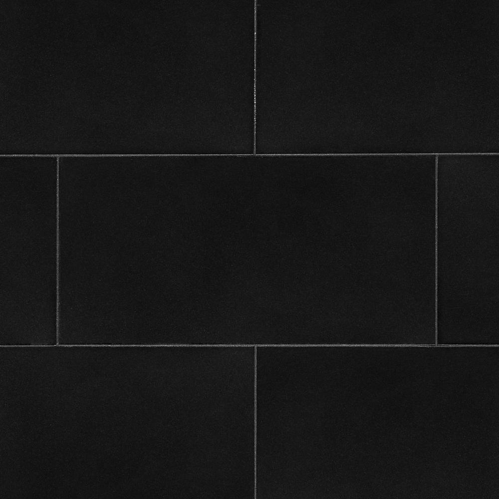 Absolute Black Honed Granite Tile Floor Decor In 2020 Honed Granite Granite Tile Black Granite Tile