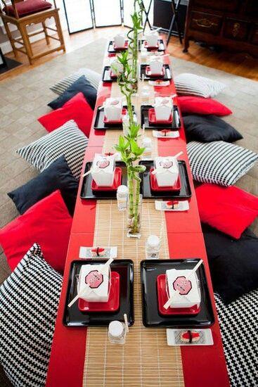 Mesa japonesa casas con estilo pinterest mesa - Mesas japonesas ...
