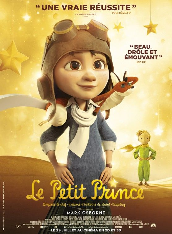 The Little Prince Movie Poster Affiche 2 The Little Prince Movie The Little Prince Inspirational Movies