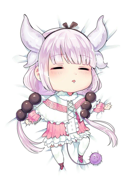 Kanna Kamui Miss kobayashi's dragon maid, Chibi, Dragon girl
