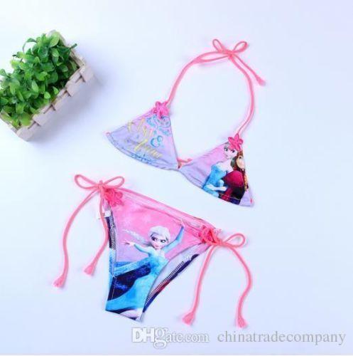 Disney Frozen M/ädchen Badeanzug Bikini