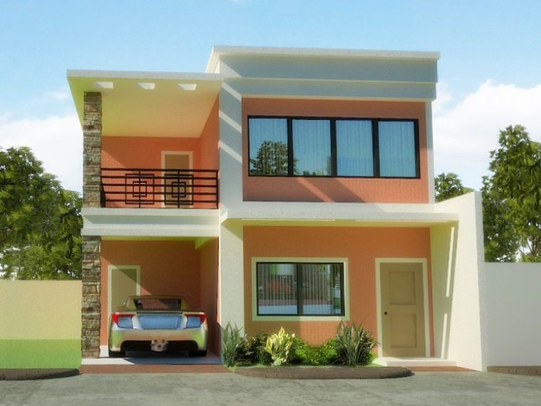 planning to build your own house check out the photos of these beautiful 2 storey houses - Build Your Own Model House