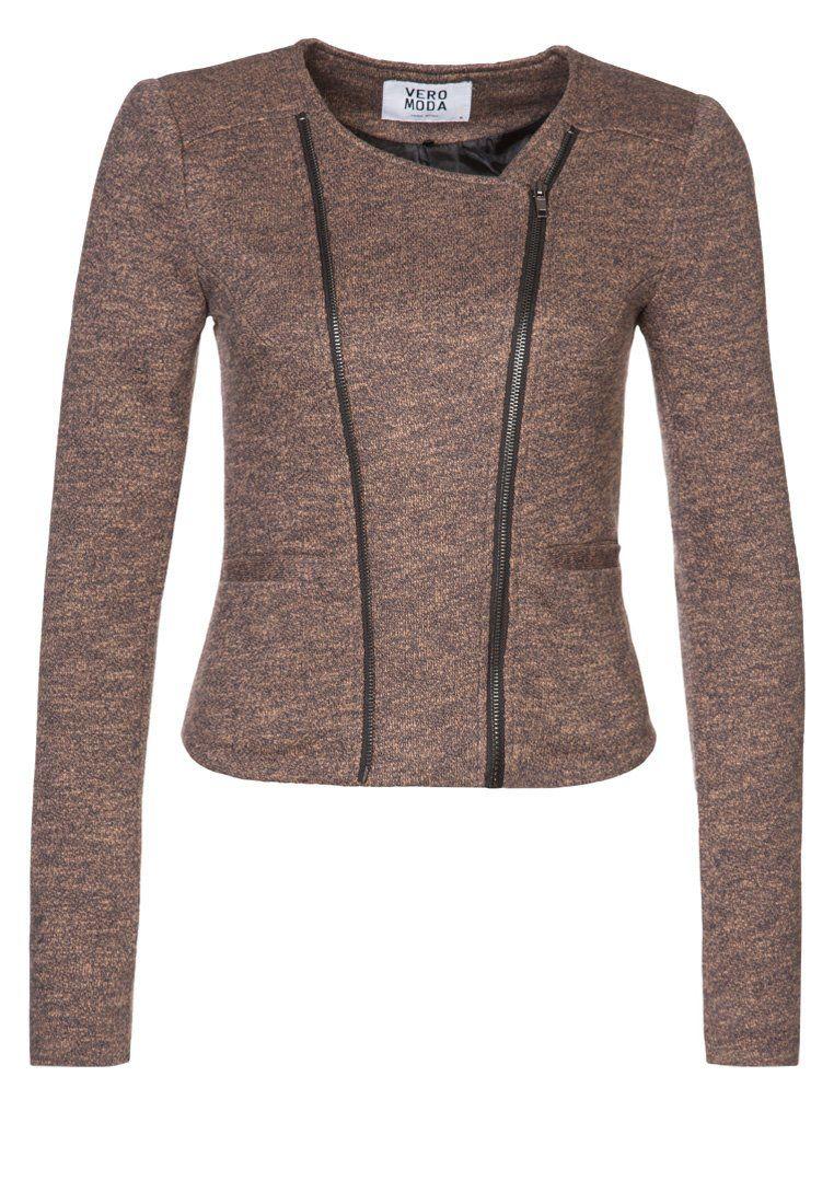 Vero Moda - BALMINA - Blazer - marrón
