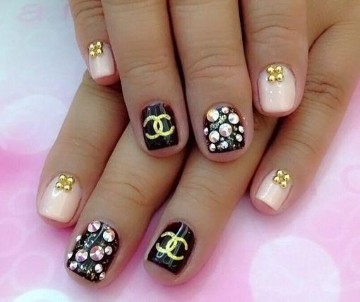 маникюр на коротких ногтях Поиск в Google Маникюр ногти Pinterest Natural Color Nails Nail And Envy