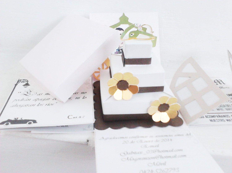 Wedding Invitation Exploding Box SVG Cut Files de MyDesiredSvg en ...