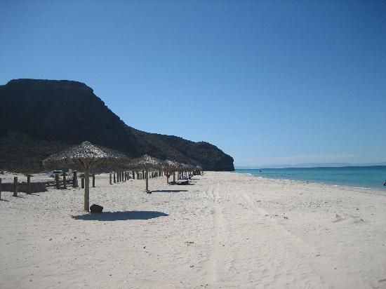 Playa El Tecolote Beach North Of La Paz Mexico Been There A Few Times Gorgeous