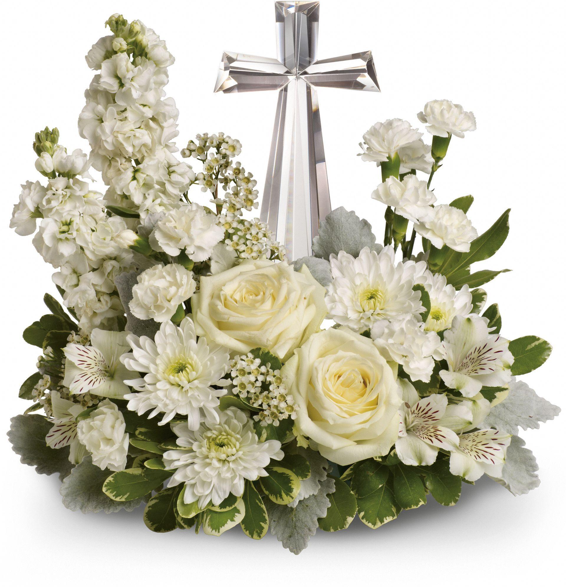 Telefloras Divine Peace Bouquet