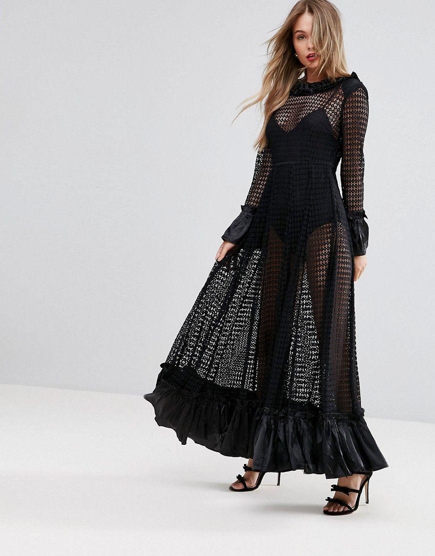 43++ Black sheer maxi dress ideas in 2021