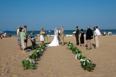 Plant Package Virginia Beach Wedding Chapel Beach