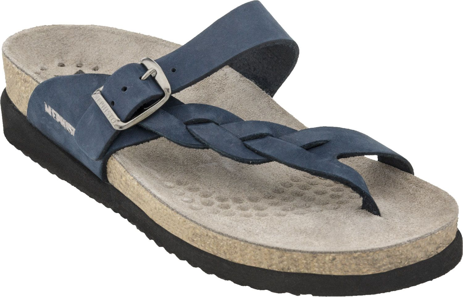 5527681150ba Buy the Mephisto Helen Twist women s thong sandals online at  PlanetShoes.com. Shop for Mephisto on sale with free shipping and returns  on orders over  49.