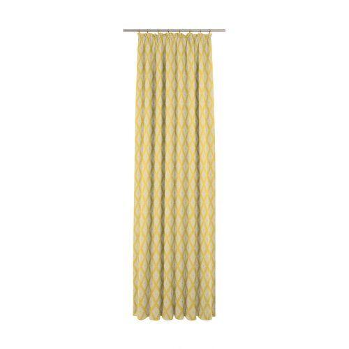 August Grove Esteban Pencil Pleat Room Darkening Curtains