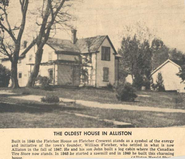 New Tecumseth History The Oldest House In Alliston Alliston In The 1800 S Page 1 2 Building A Cabin New Tecumseth Old Things