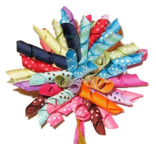 Hoe Lint Decoratie Maken Voor Kado Verpakking Hobby Blogo Nl Haarstrikken Maken Haarelastiekjes Diy Hairbows