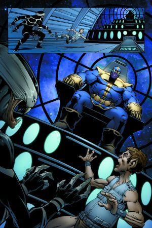 Marvel Behemoths Fist Fight in Hulk vs Thanos