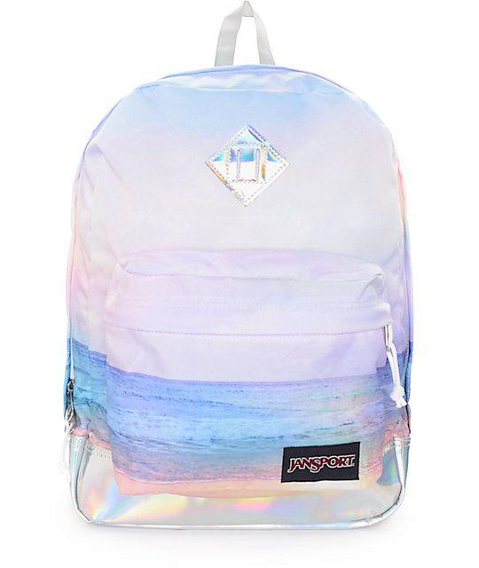 JanSport SuperBreak Backpack (53 CAD) ❤ liked on Polyvore ...
