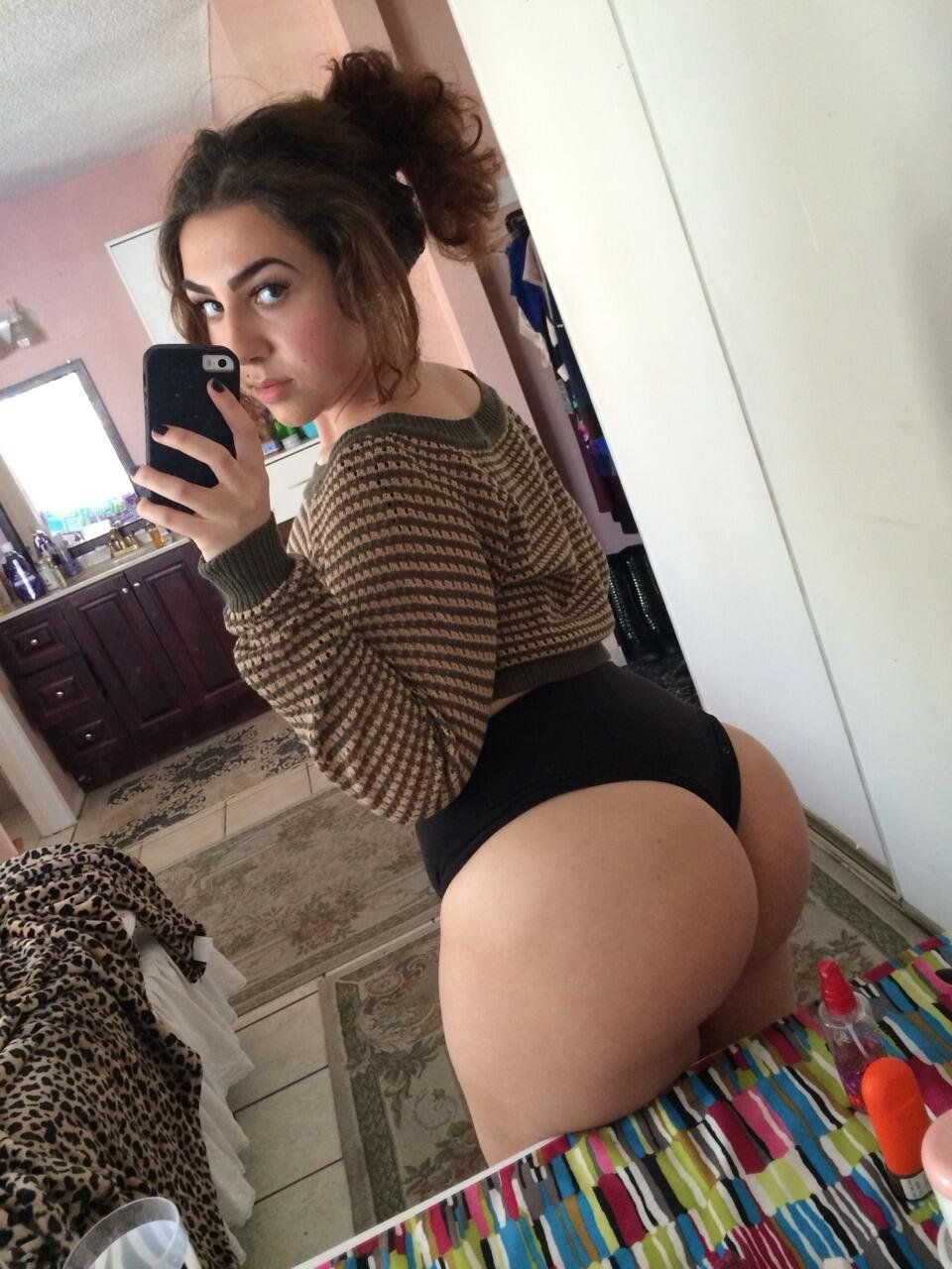 big teen ass