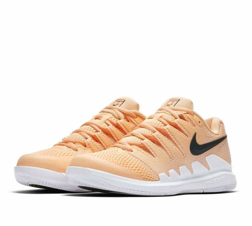 dcbae2a51363 Nike Air Zoom Vapor X Tennis Shoes Womens 10 Tangerine Tint White  Nike   TennisShoes