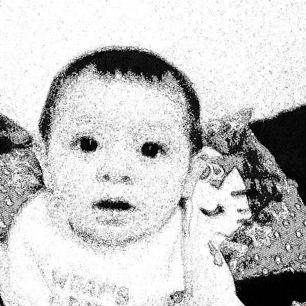 He is my baby boy (:
