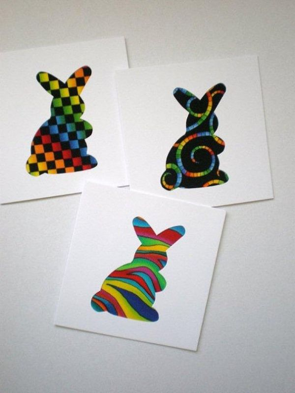 Ideas for creative easter cards for itself make gifts for children ideas for creative easter cards for itself make negle Choice Image