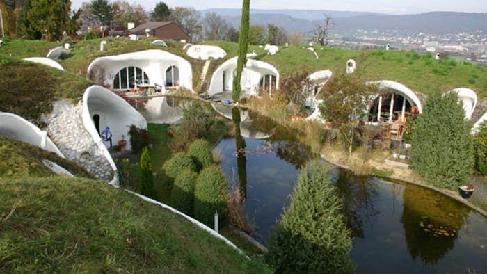 Hobbit Style Homes hobbit house - google search   fairy land   pinterest   architecture