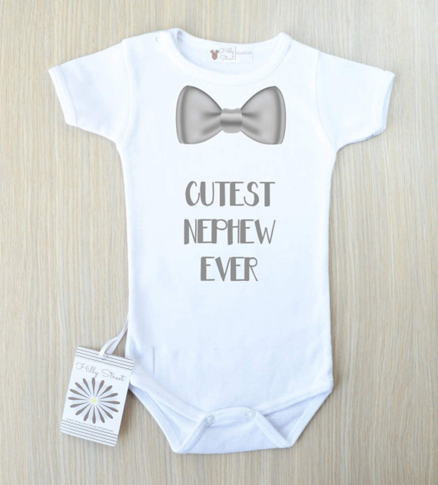 Cutest Nephew Ever Baby Bodysuit Aunt Baby Clothes Nephew Gift