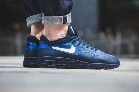 c132b6dc5f Nike Air Max 1 Ultra Flyknit Dark Blue Men [nikeairmax-099] - $62.99 : |  nike and adidas shoes online store | Scoop.it