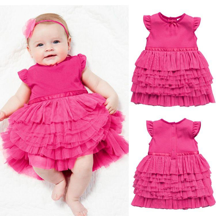 vestidos para bebes recien nacidos de 0 a 6 años | Linda Angel ...