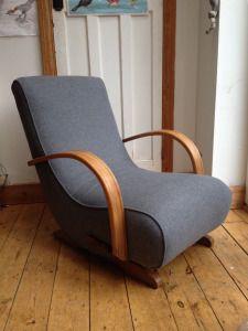 1940u0027s Utility Rocking Chair
