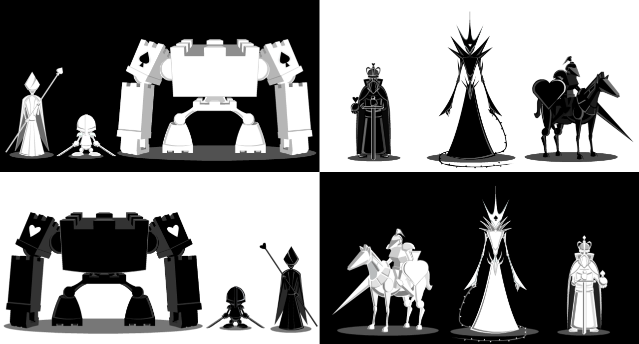 체스 컨셉 캐릭터 - Google 검색